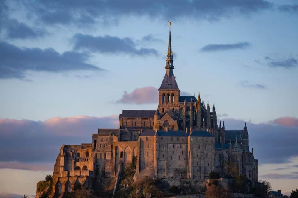 Mont Saint Michel Close Up