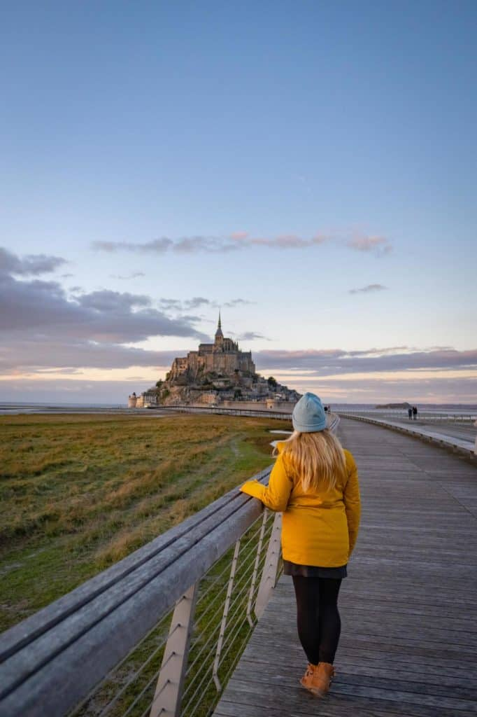 Mont Saint Michel Boardwalk