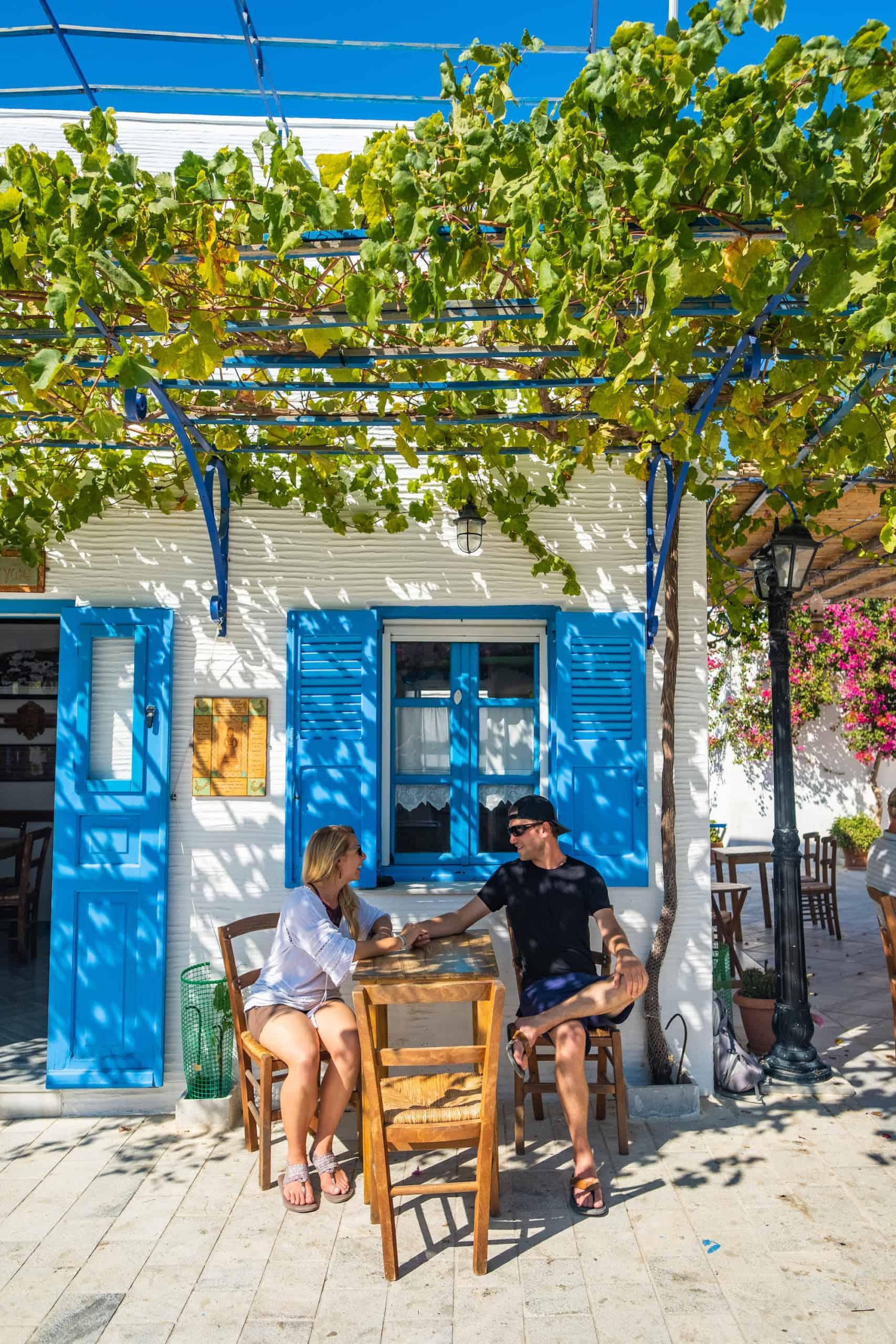 Frappes in Greece