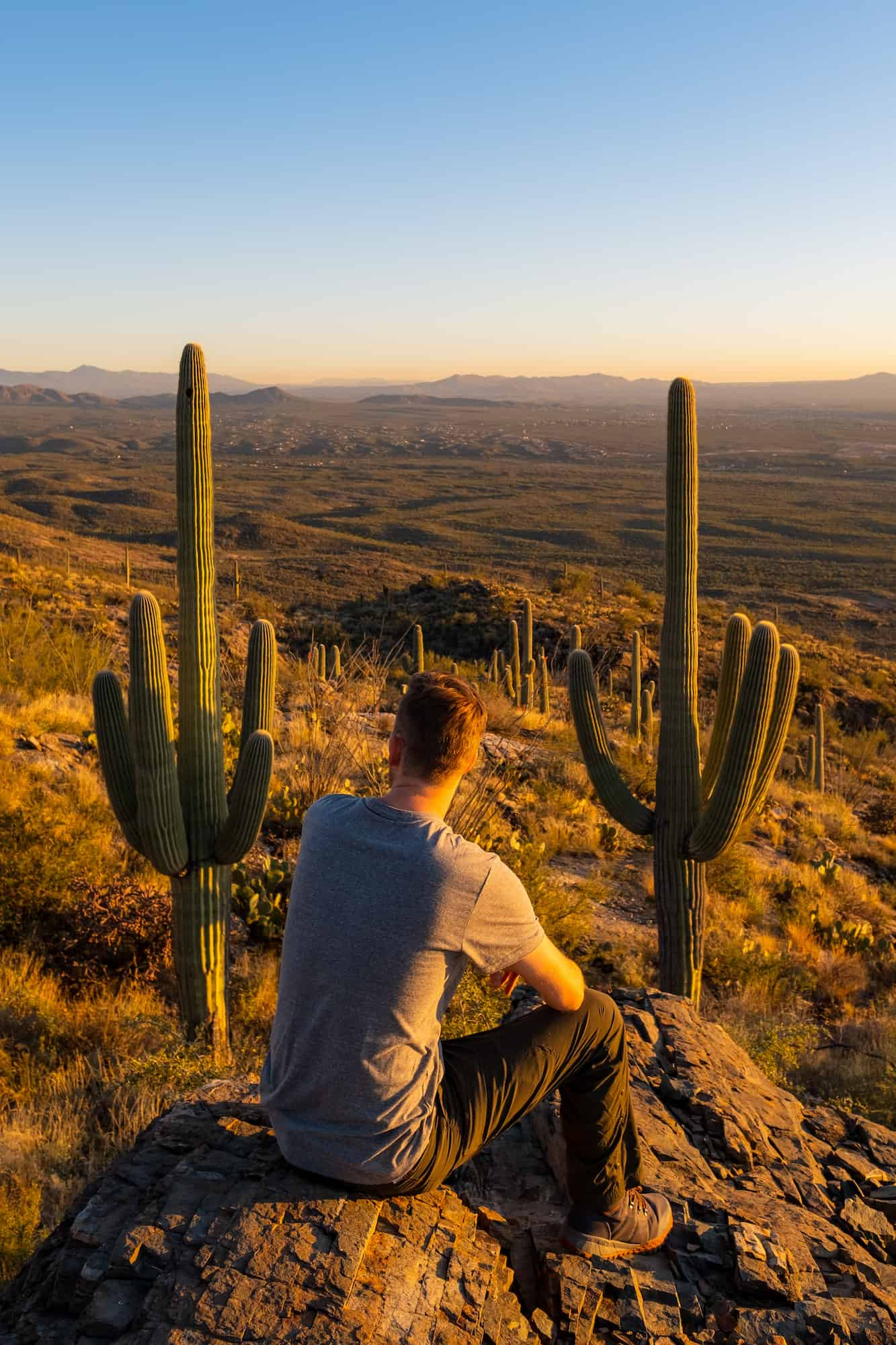 Sunset Hike Weekend in Tucson