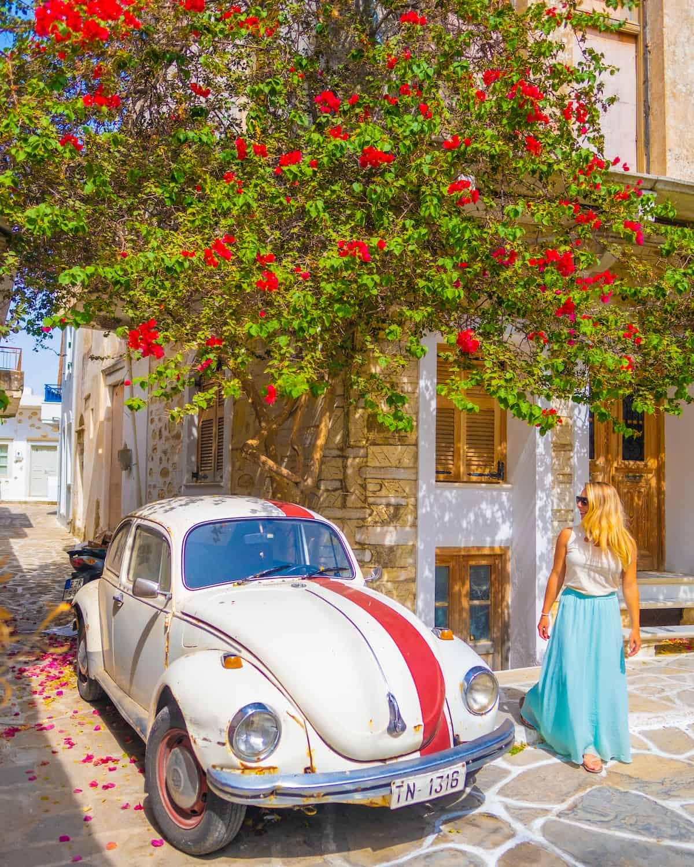 Tasha on Naxos Island