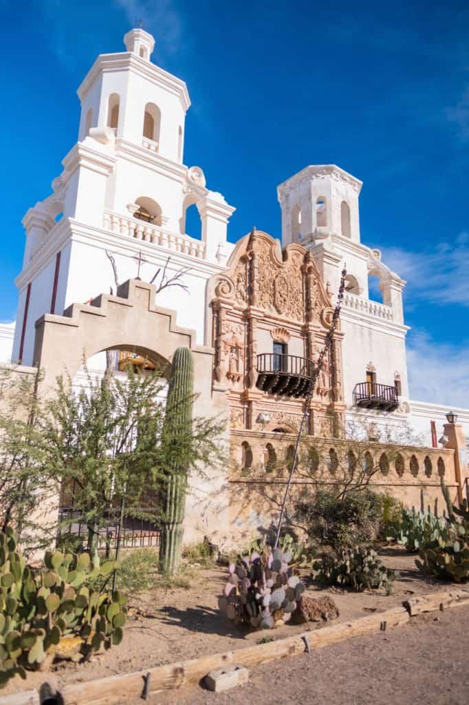 Xavier Del Bac Garden Exterior Weekend in Tucson