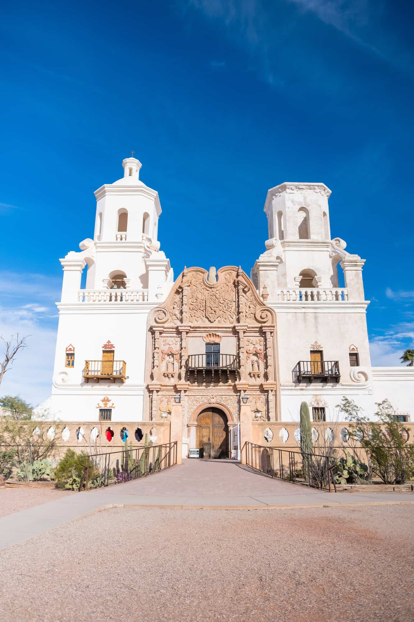 Xavier Del Bac Exterior Weekend in Tucson