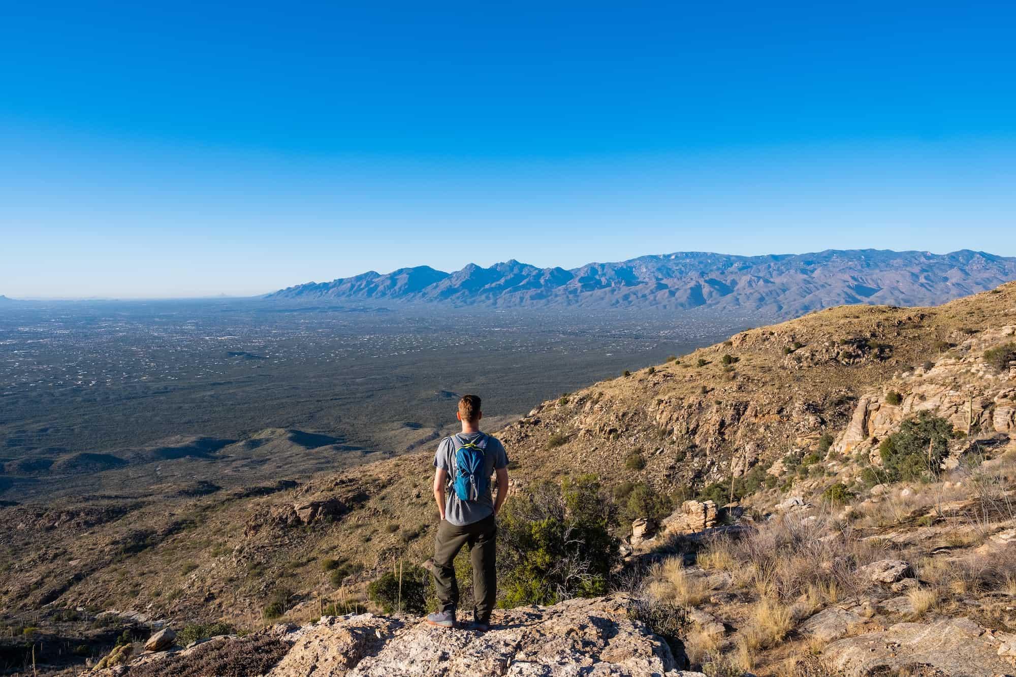 Weekend in Tucson Hike Viewpoint