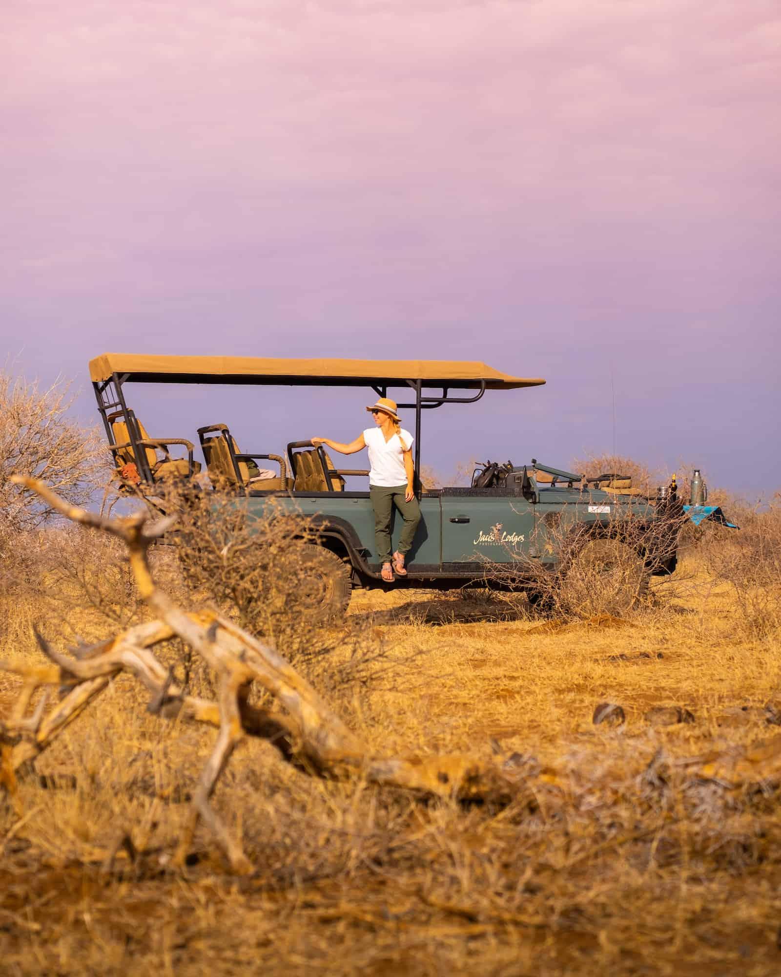 Game Viewer on Madikwe Reserve
