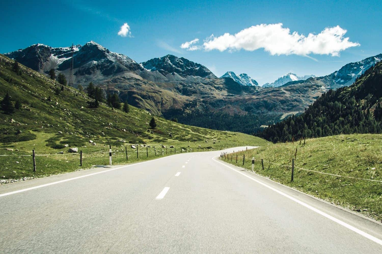 Renting a car in Switzerland