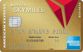 Gold Delta SkyMiles Business