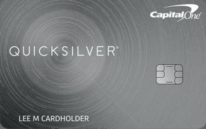 Capital One® Quicksilver® Cash Rewards