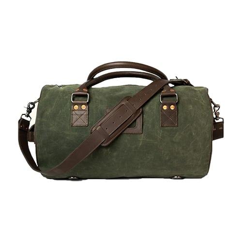 Buffalo Jackson Waxed Canvas Denver Safari Bag