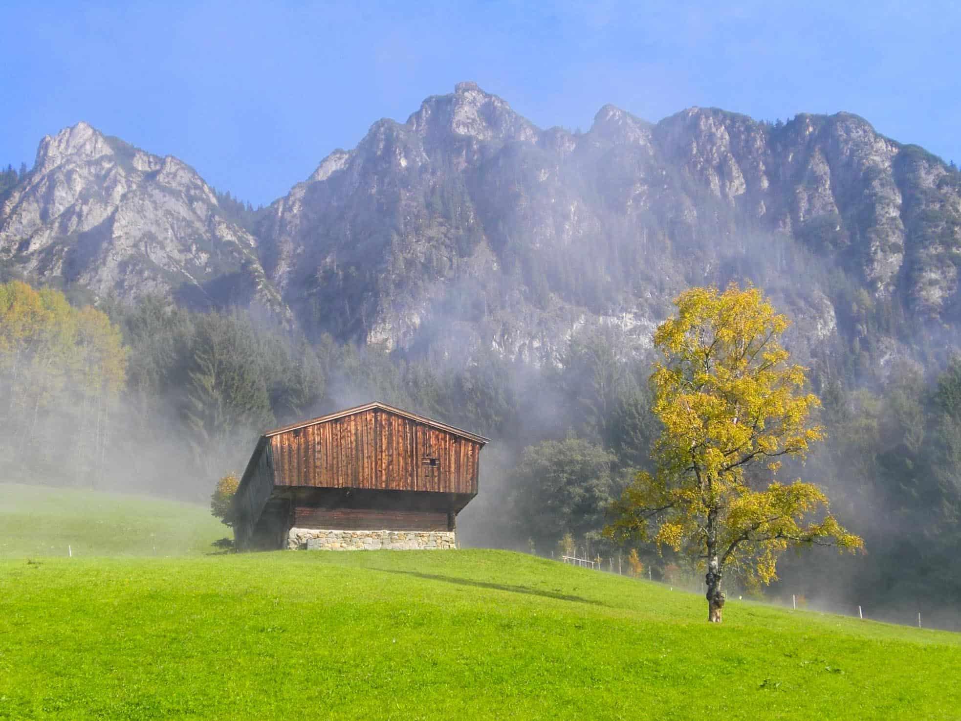 Gratlspitz Mountain Hikes in Austria