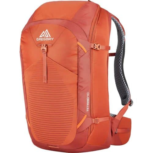 Gregory Tetrad Travel Backpack Europe