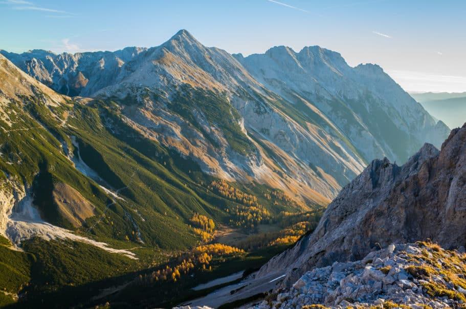 Halltal Hikes in Austria