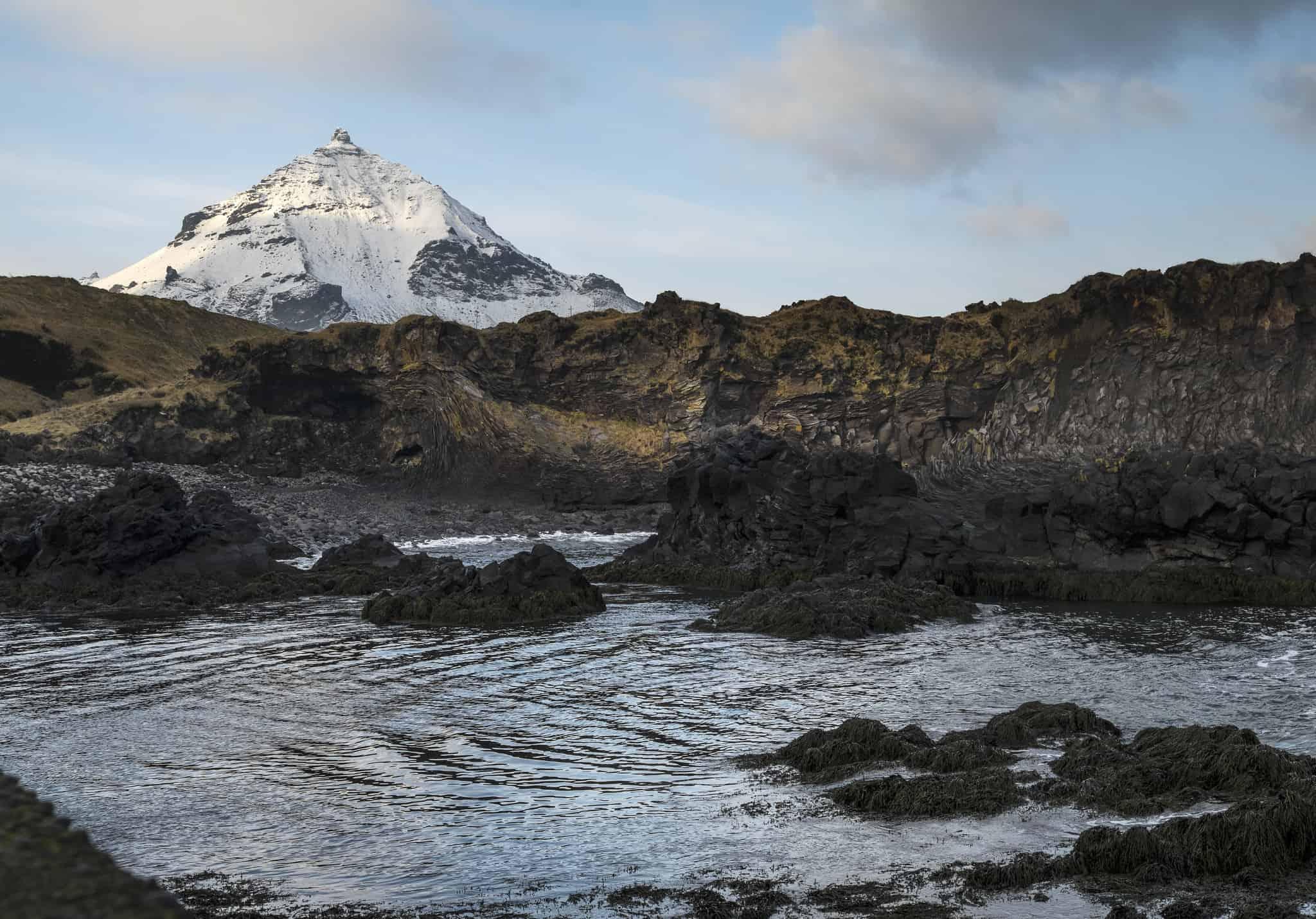 Hellnar Hiking in Iceland