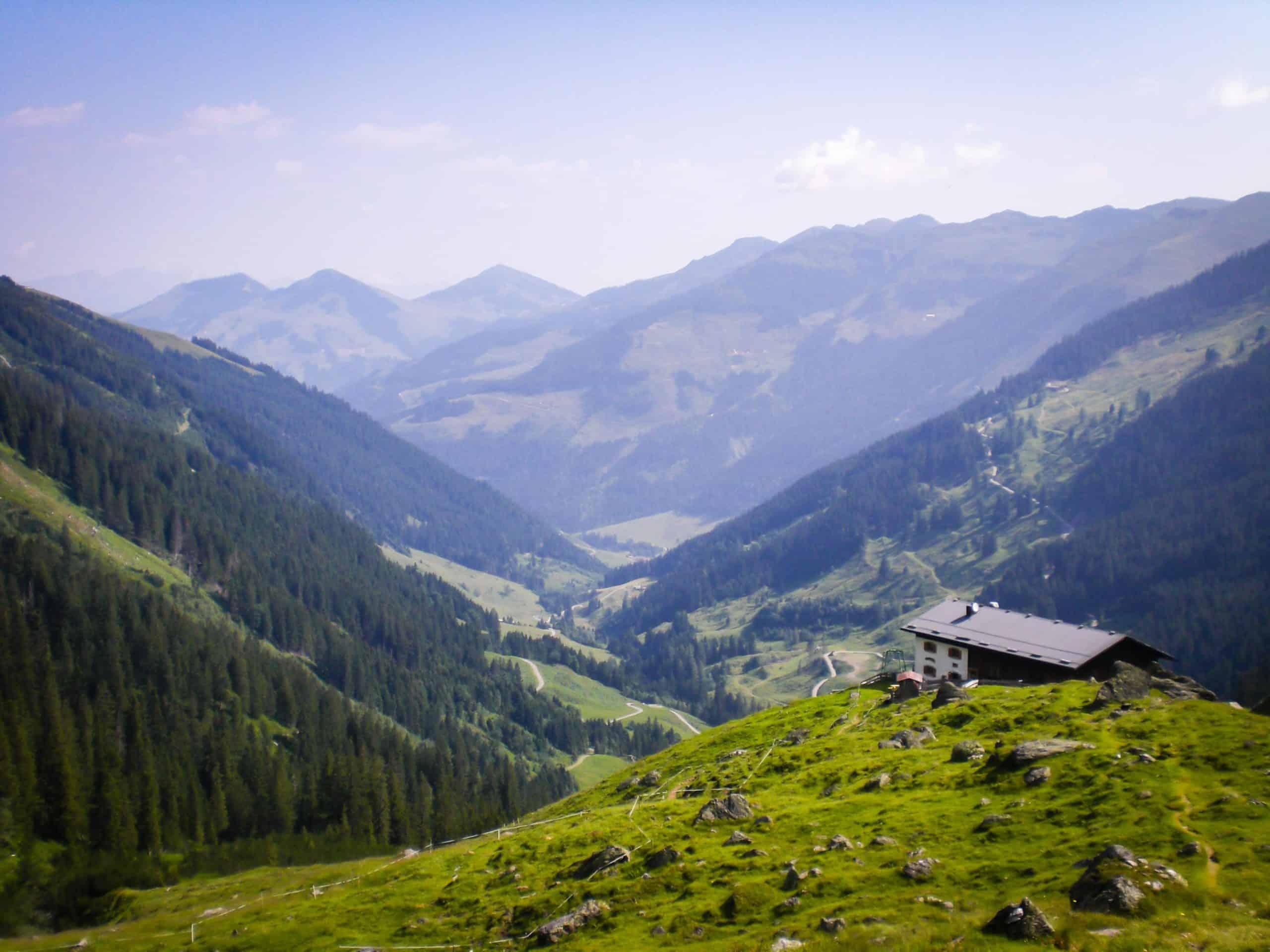 Hikes in Austria Kitzbuhel