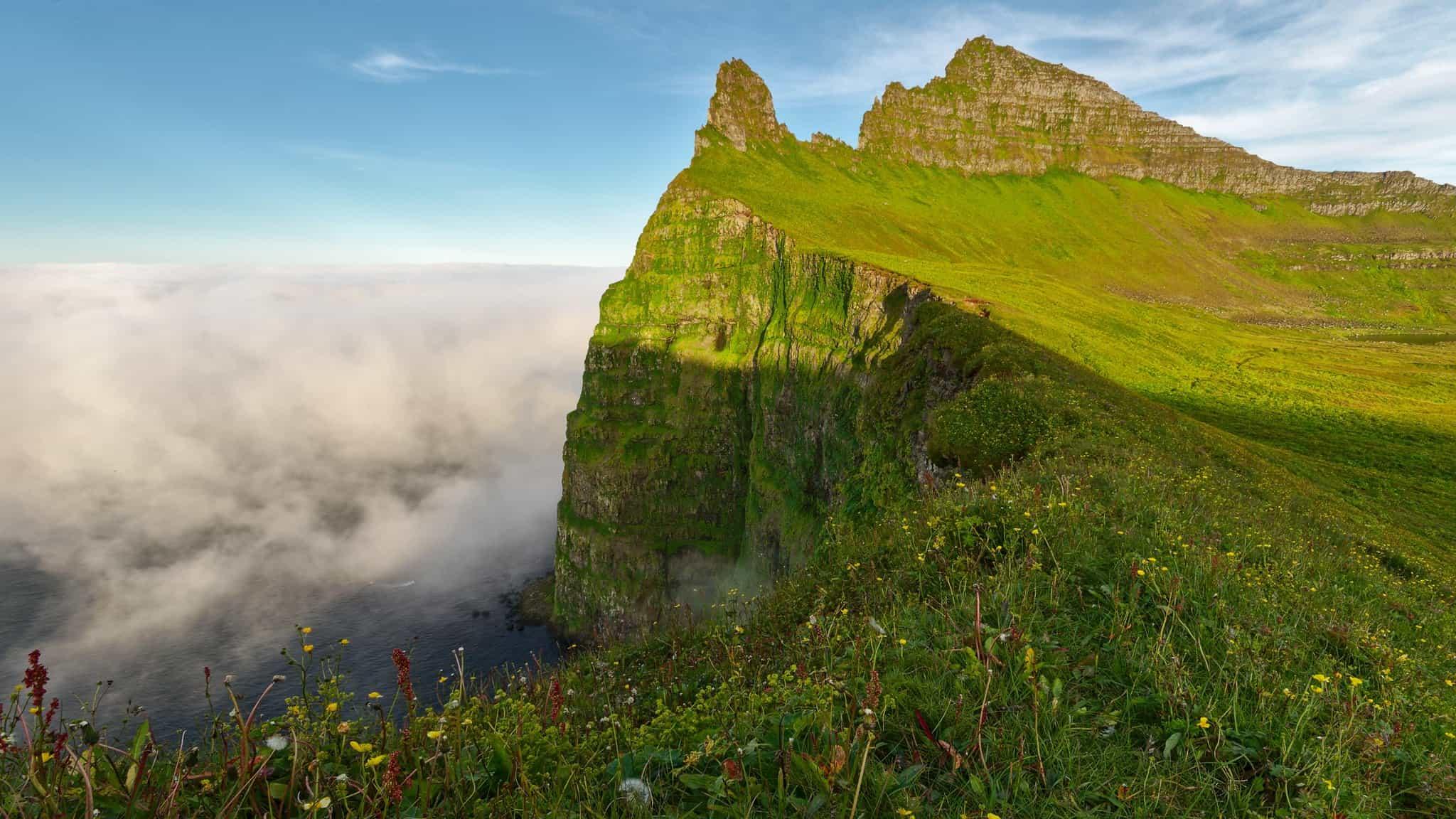 Hiking in Iceland Hornstrandir