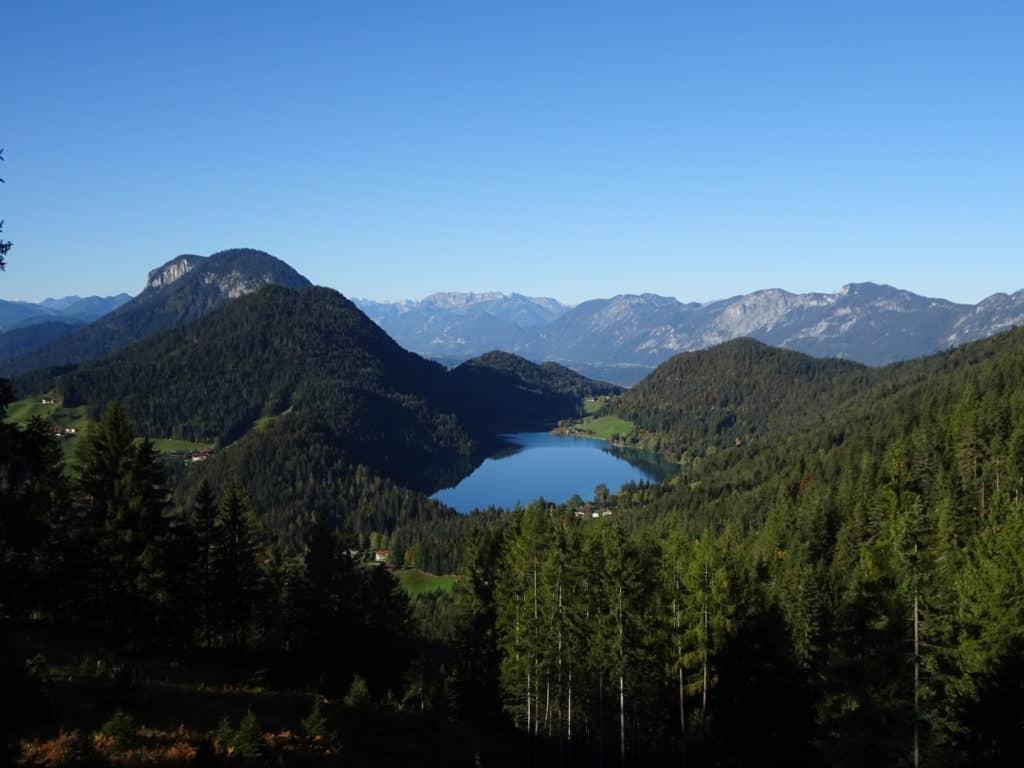 Hintersteiner See Hikes in Austri