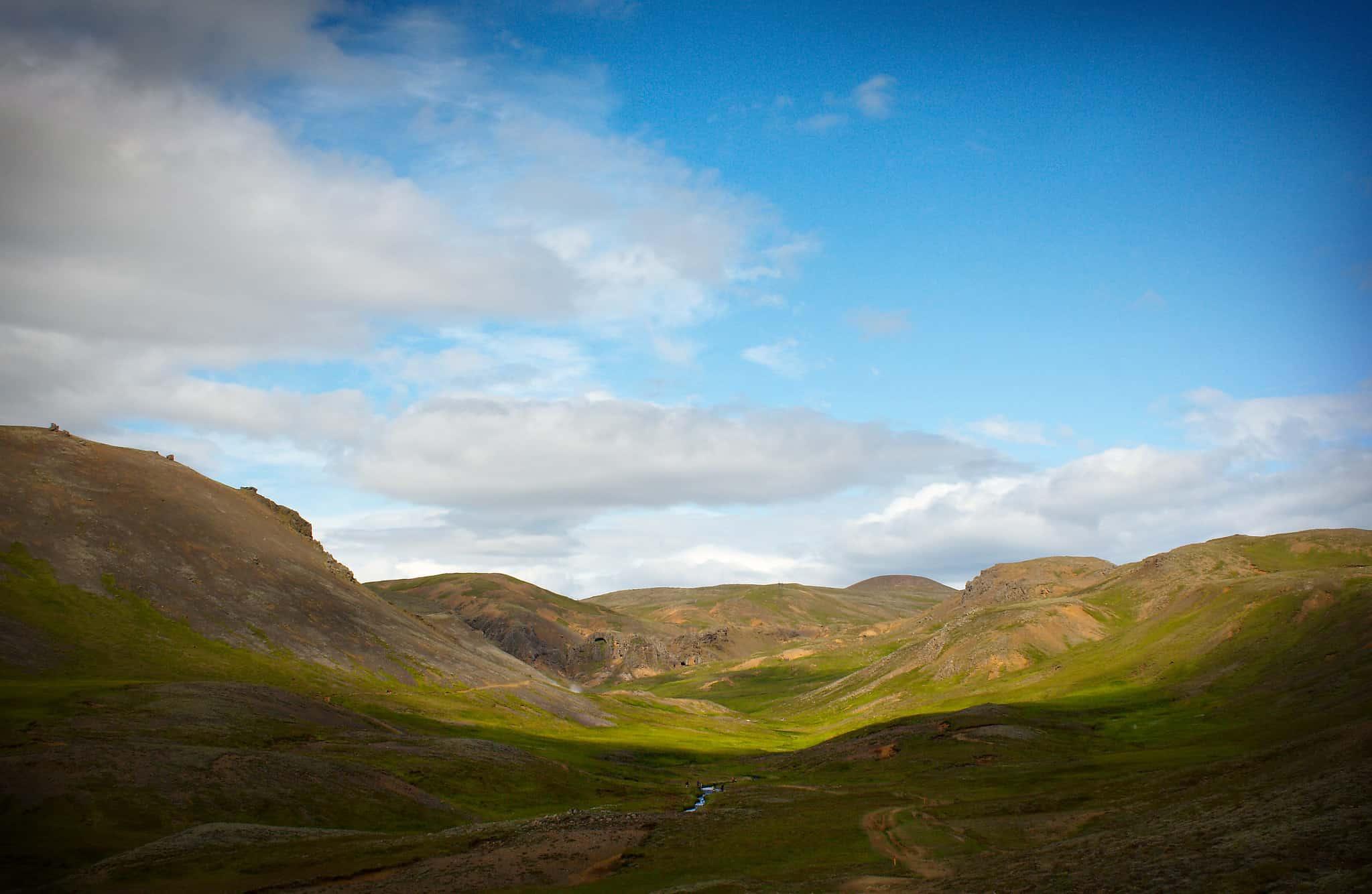 Hveragerdi Hiking in Iceland