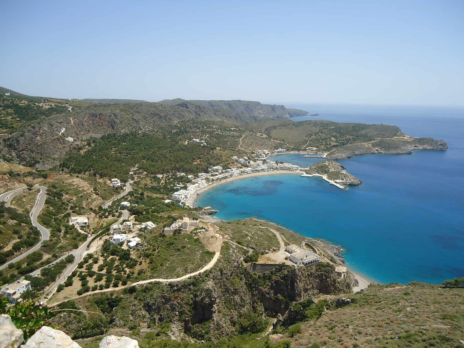 Kythira Hiking in Greece