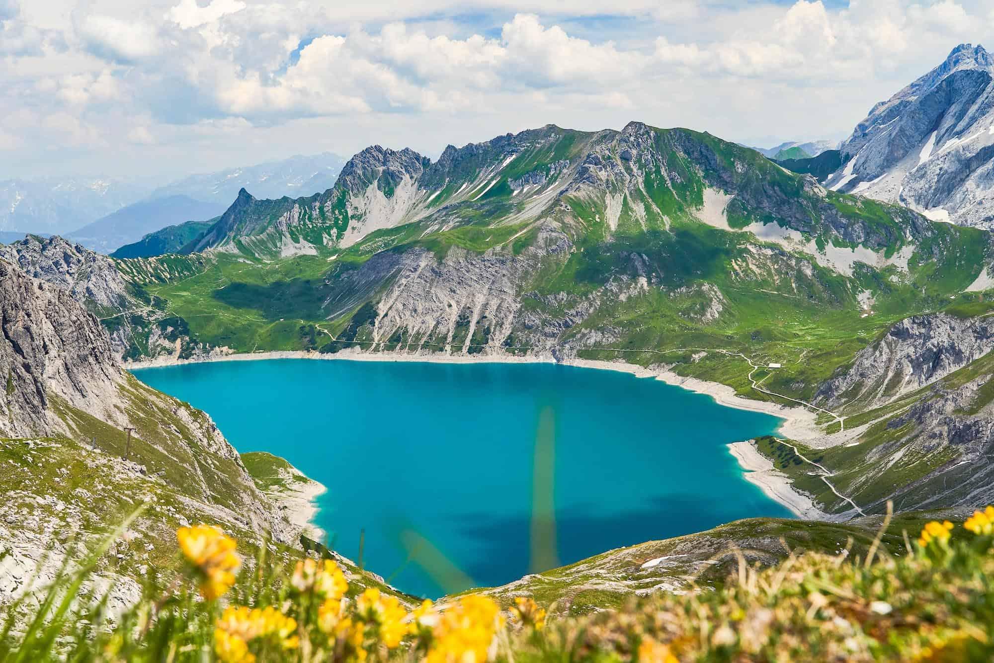 Lünersee Hikes in Austria