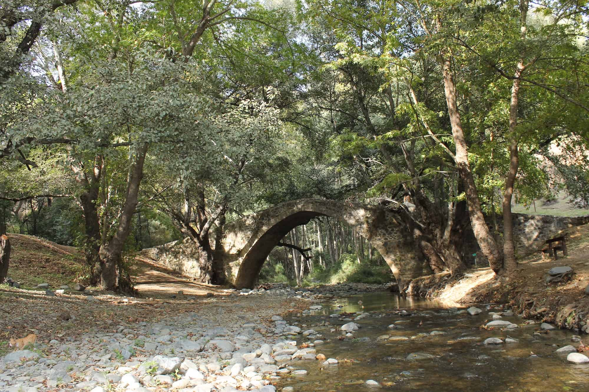 Milia Bridge Hikes in Cyprus