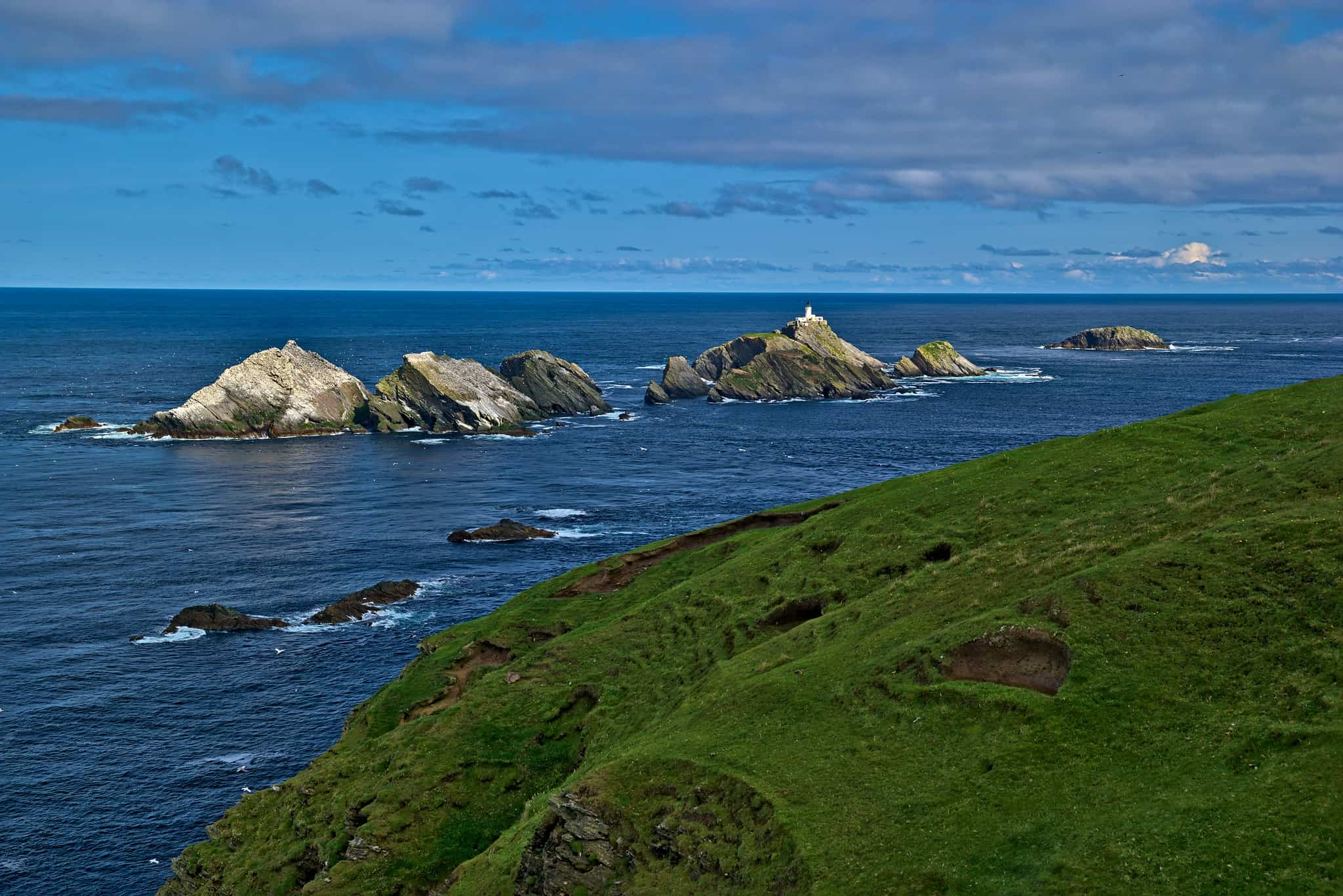 Muckle Flugga Hikes in Scotland