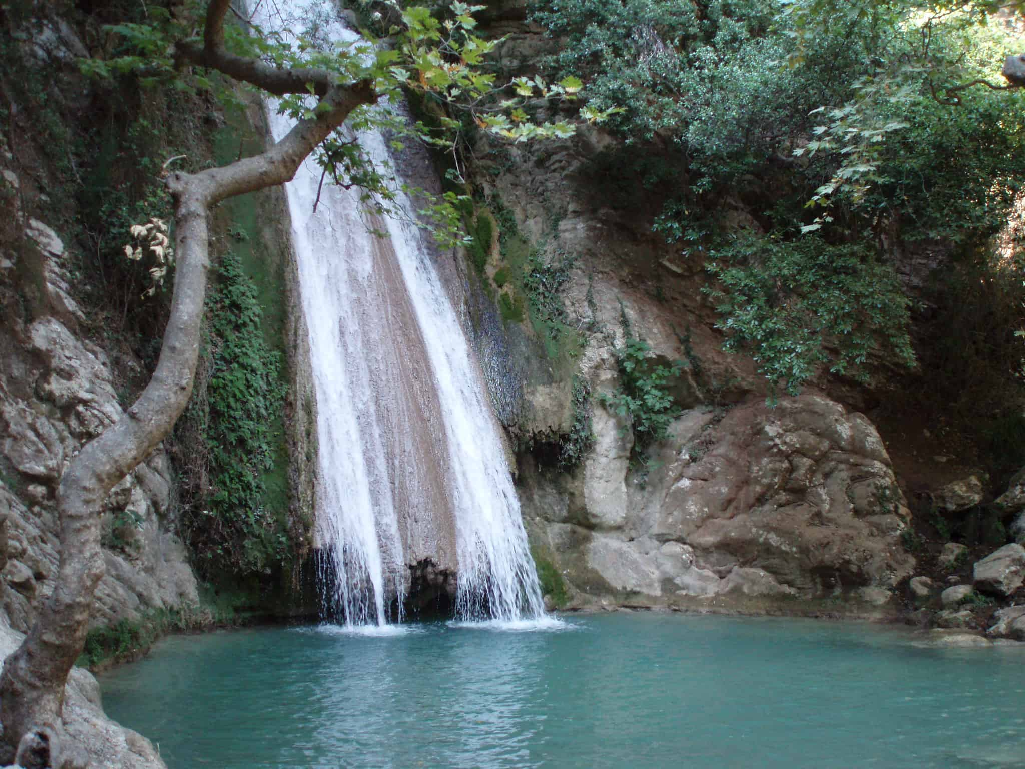 Neda Waterfall Hiking in GReece
