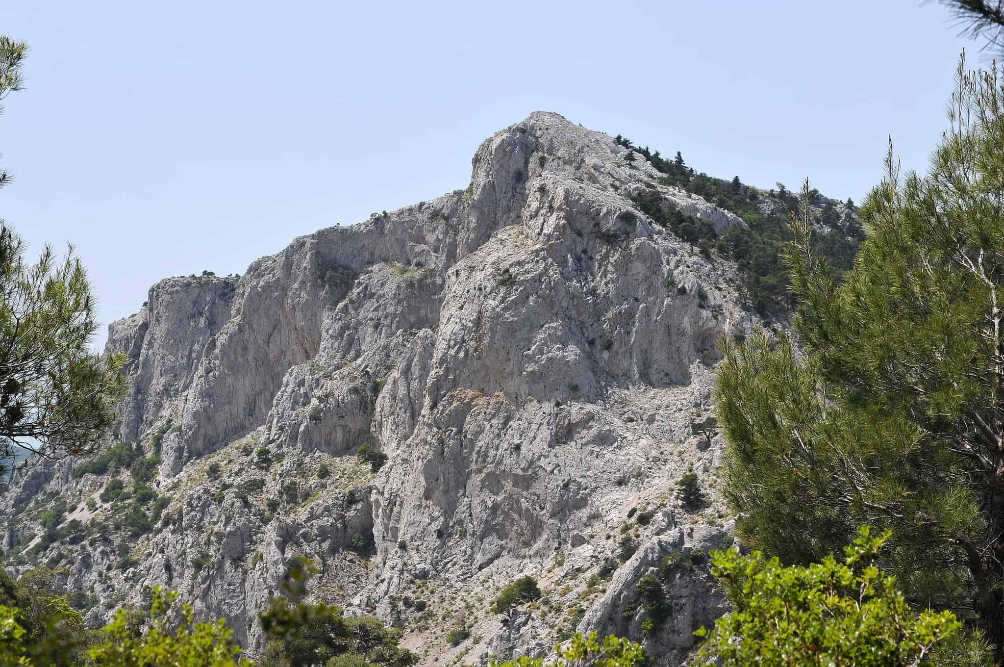 Parnitha Mountain Hiking in Greece