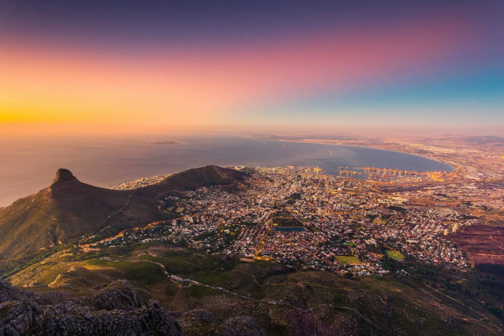 romantic things to in Cape Town