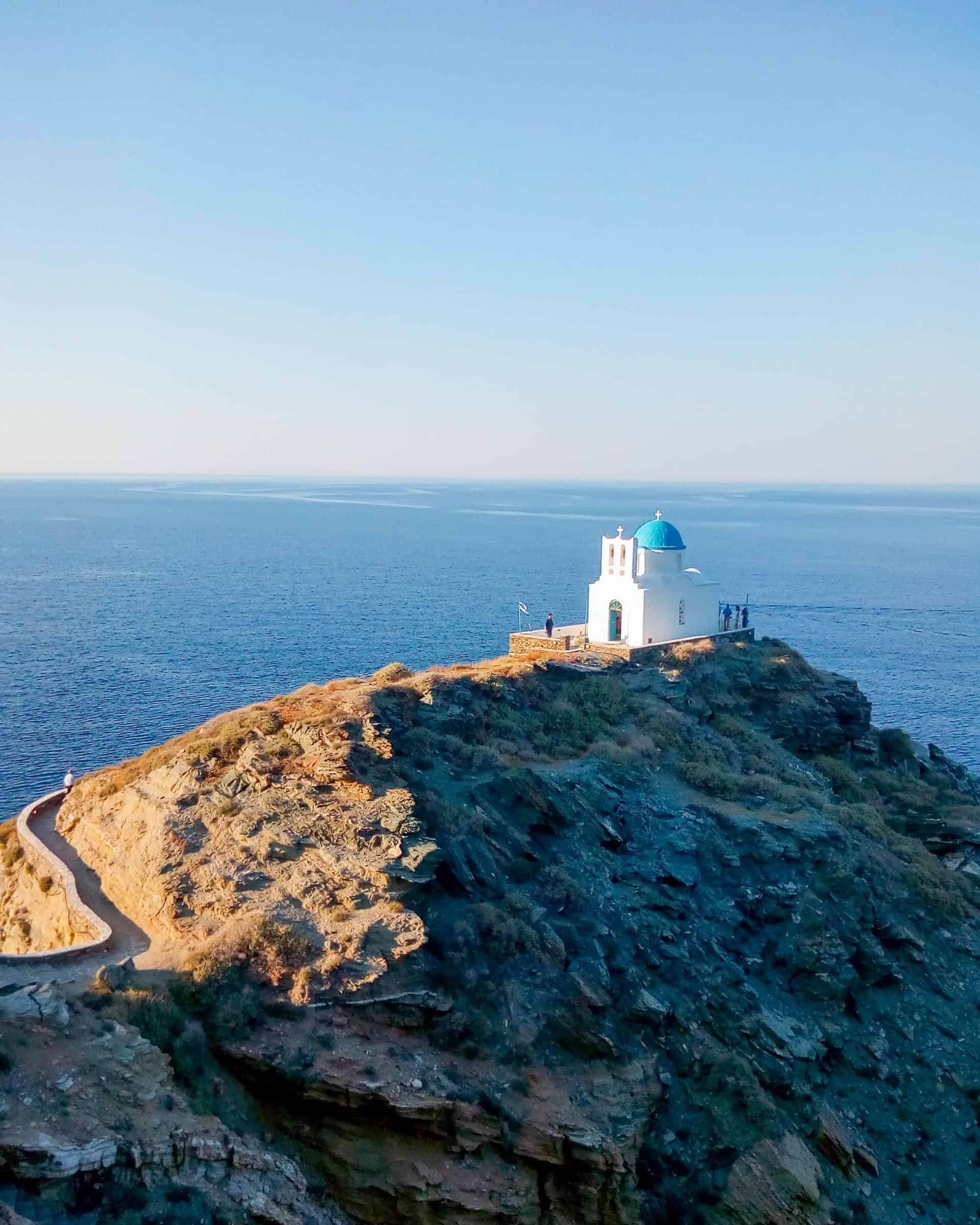 Sifnos Hiking in Greece