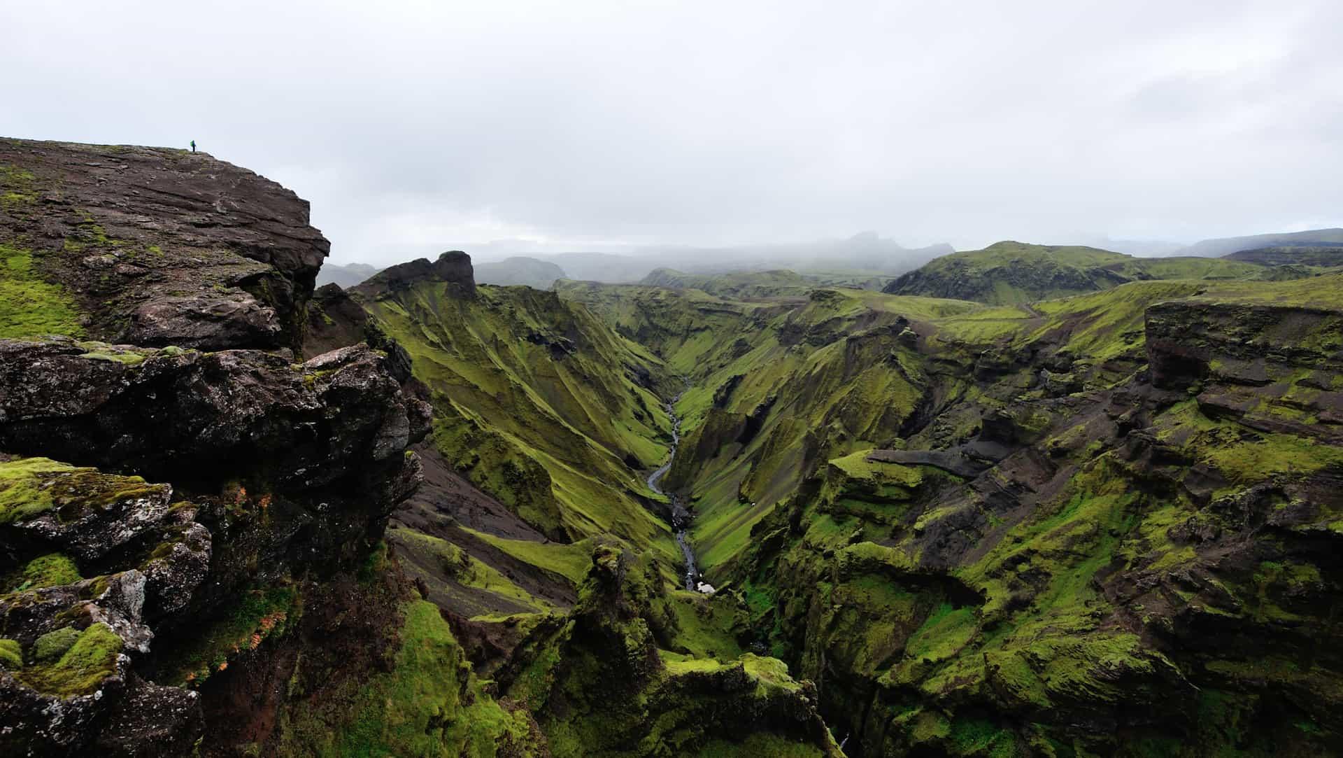 Thakgil Hiking in Iceland