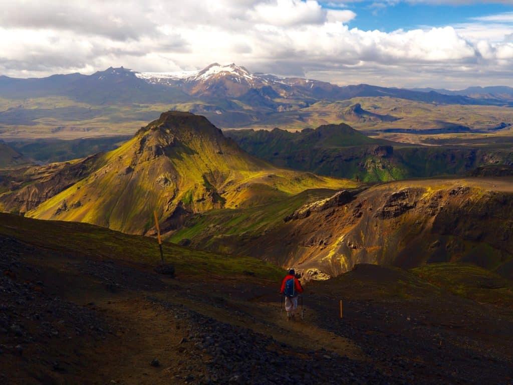 Thorsmork Hiking in Iceland
