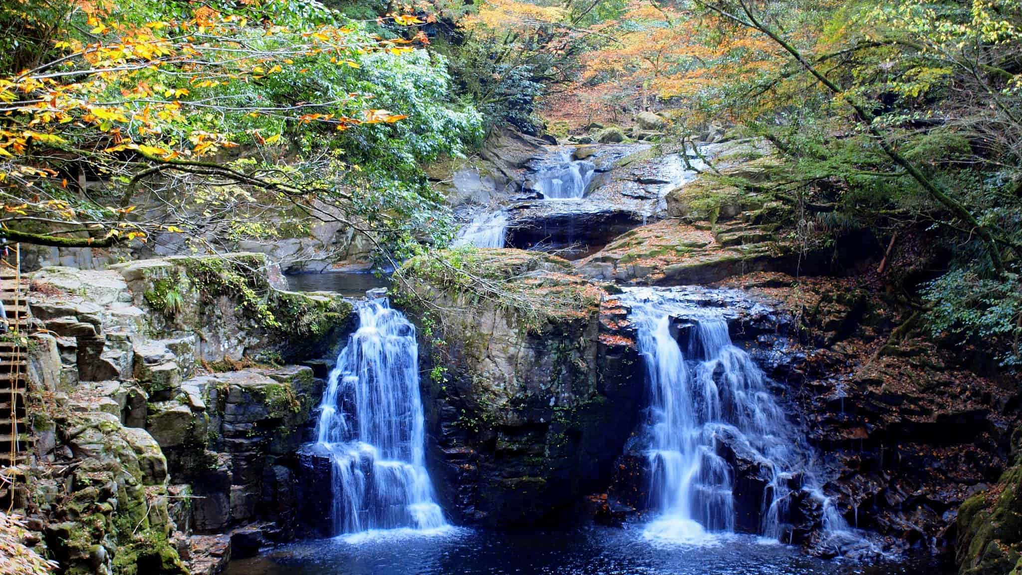 Waterfalls in Japan - Akame 48 Falls