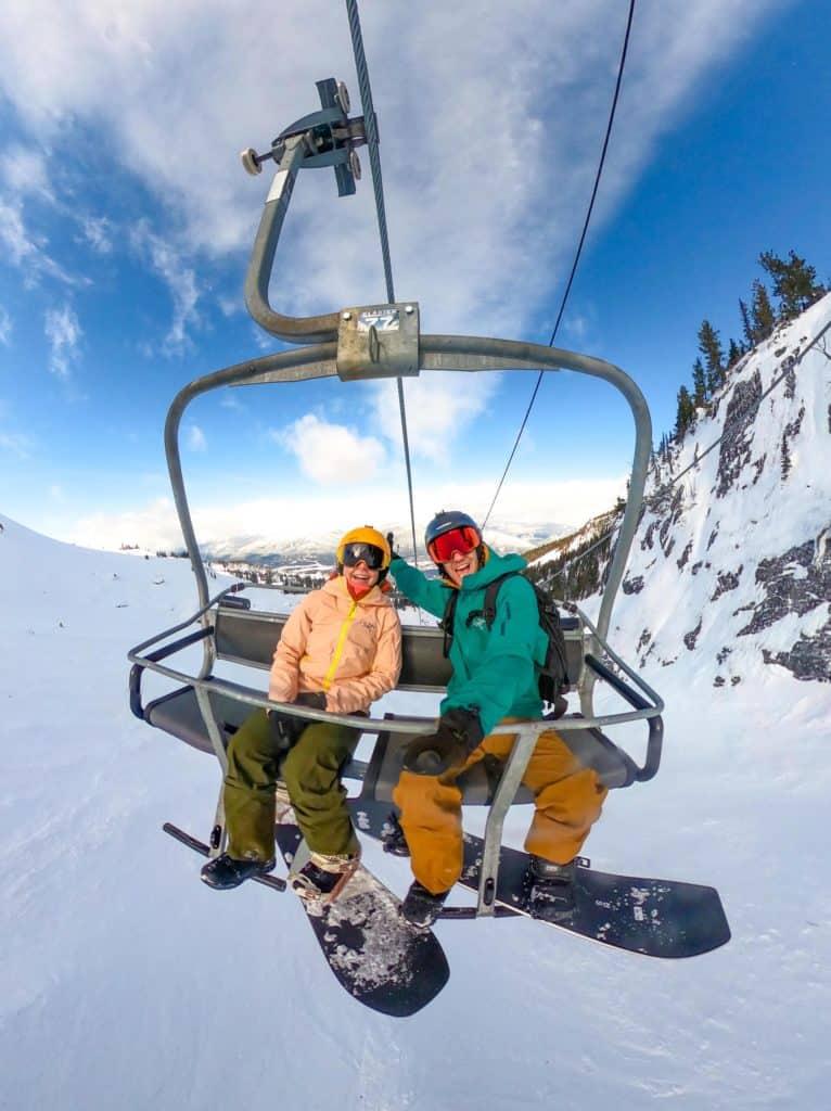Skiing at Whistler