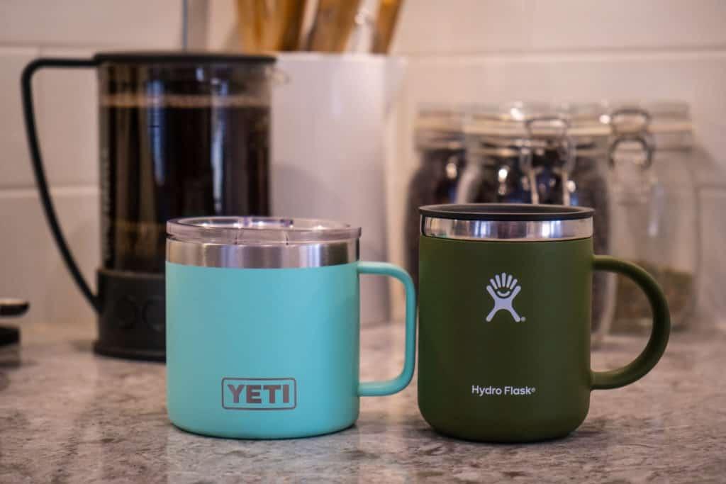 hydro flask vs yeti