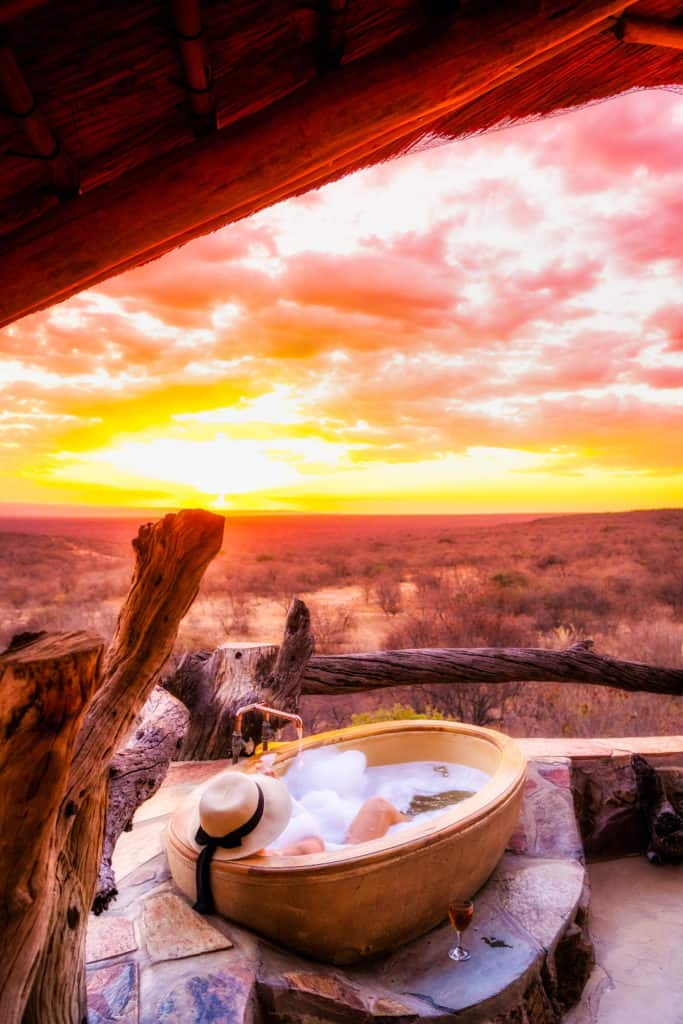 Africa sunset captions