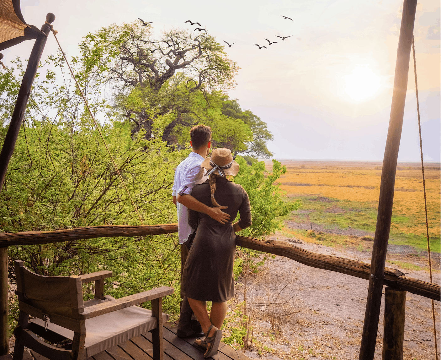 African honeymoon