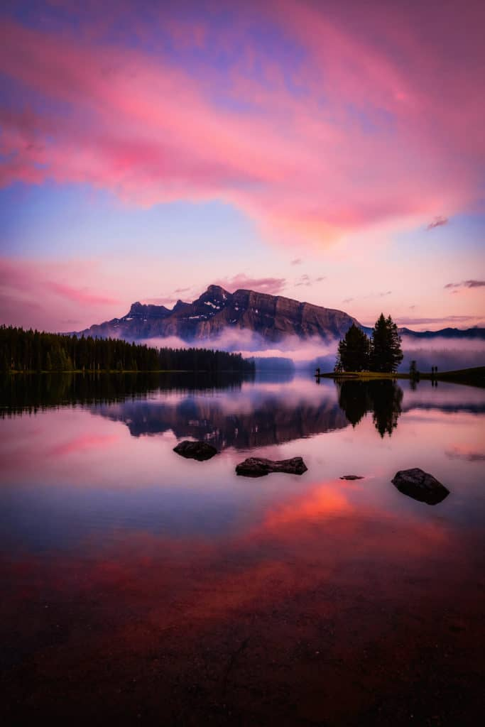 Banff - best places to visit in august