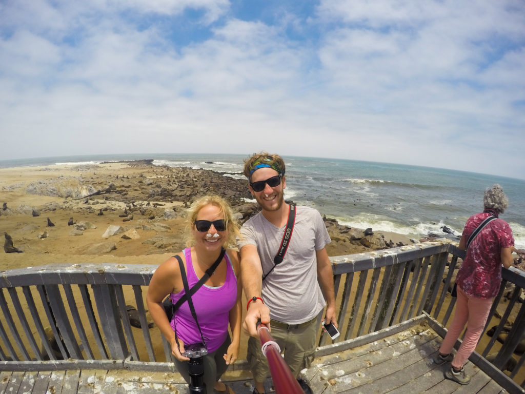 At the smelliest places on earth - the Cape Fur Seal Colony