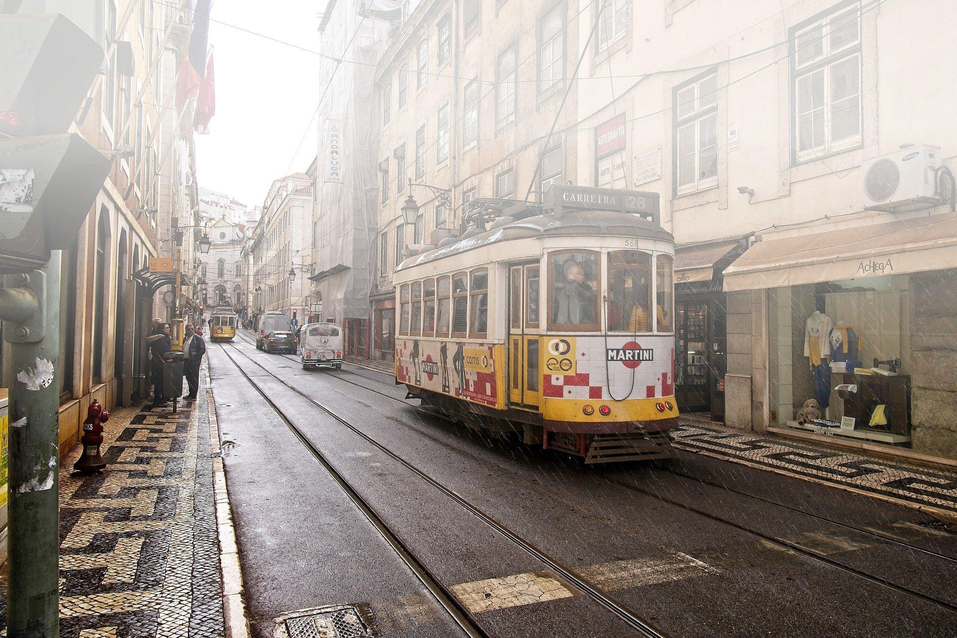Portugal Lisbon Rain