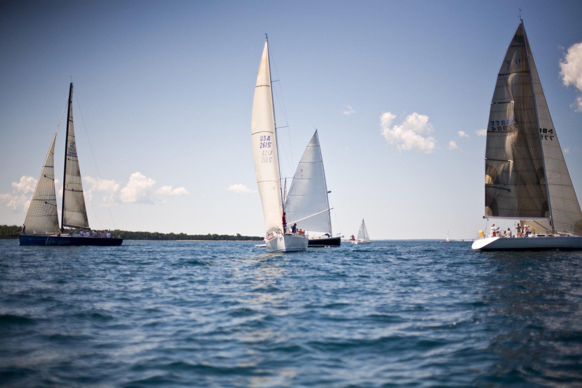 Sailing Around Mackinac Island