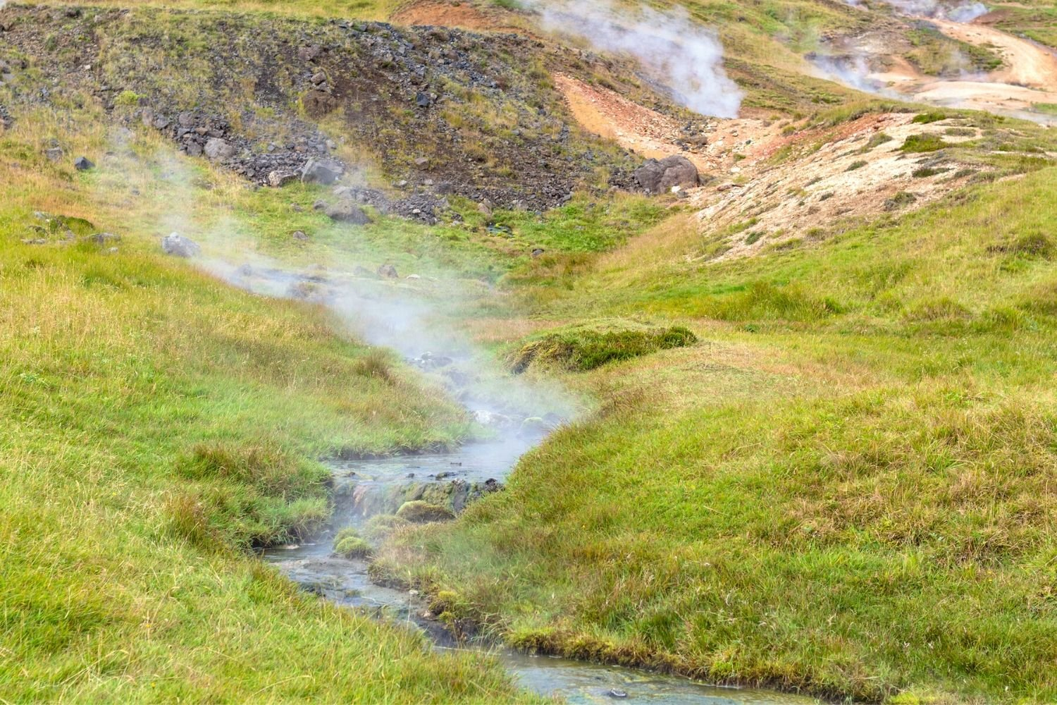 natural hot springs in iceland