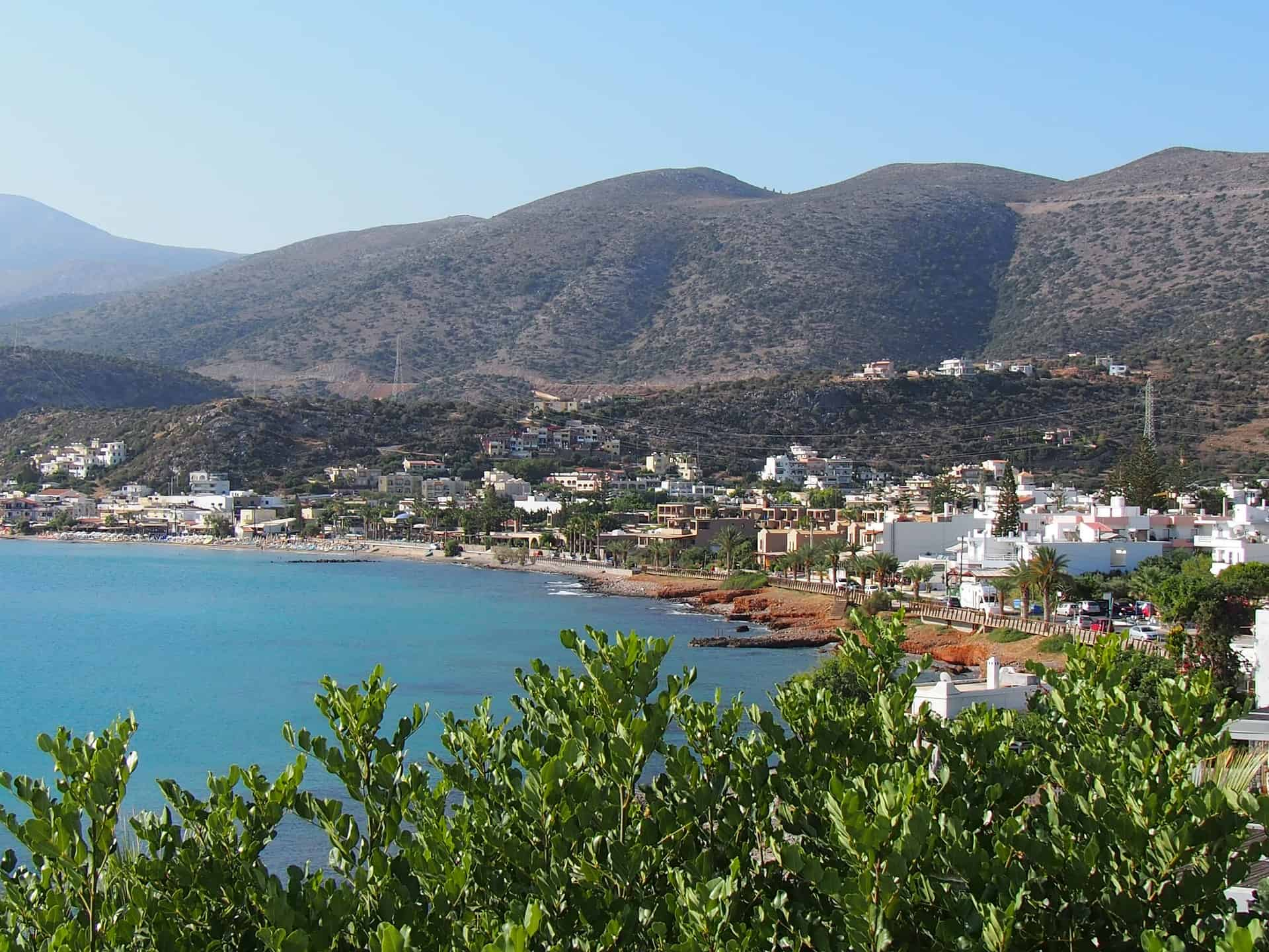 Malia Town Crete