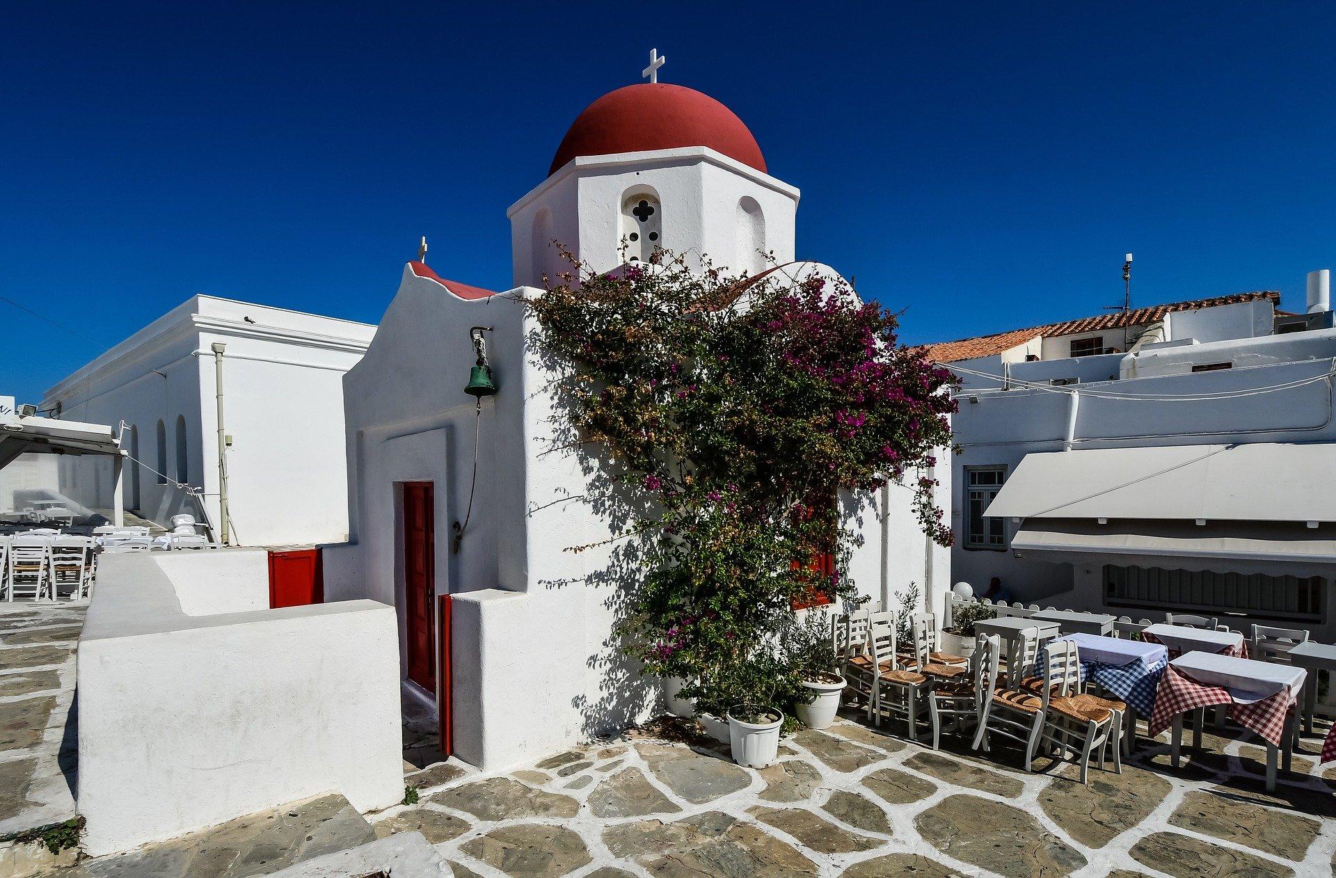 Church on Mykonos