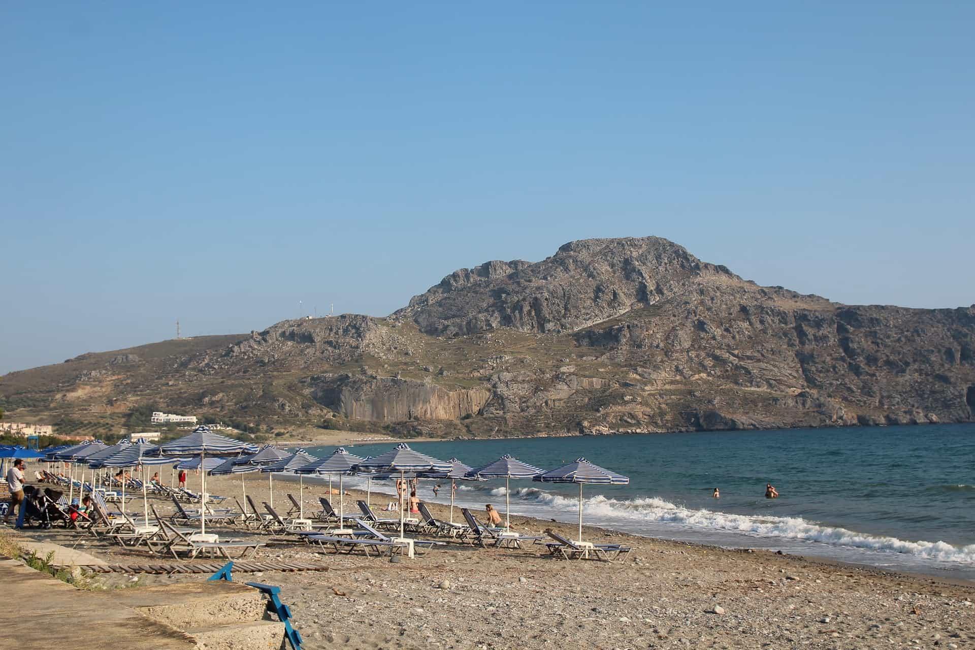 Plakias Beach on Crete