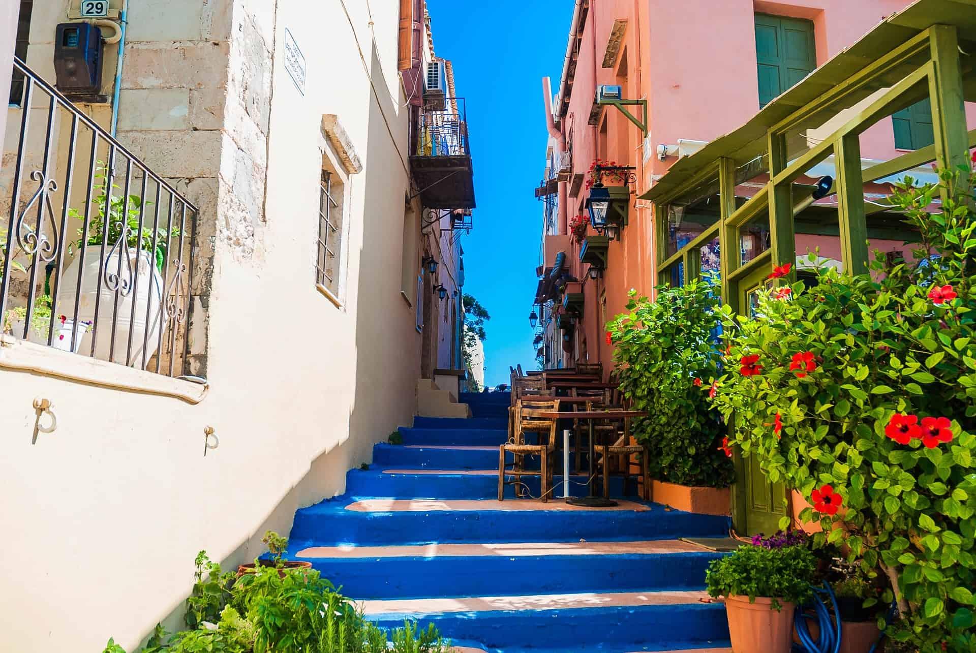 Rethymno Crete Alley Way