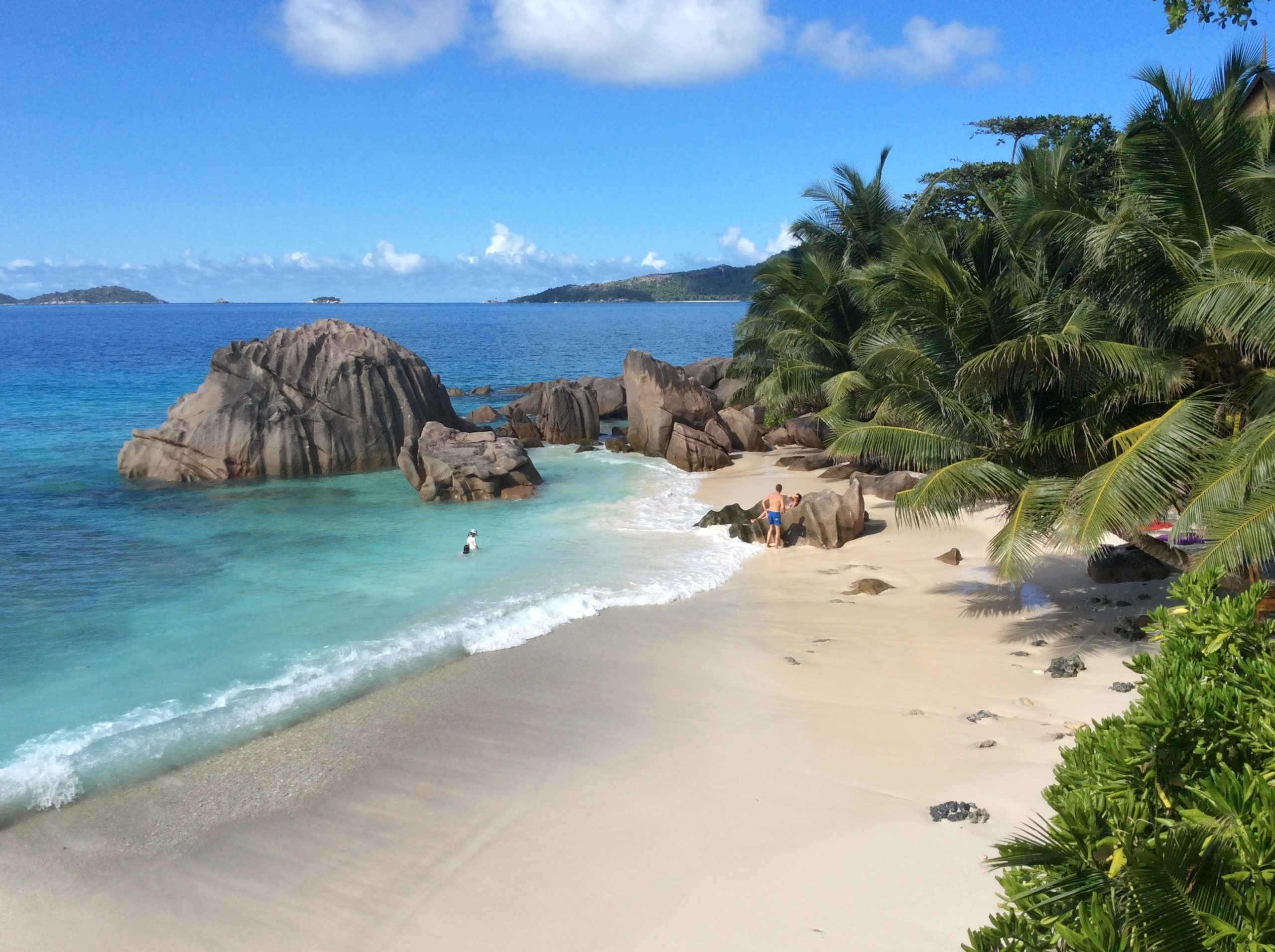 Seychelles La Dique