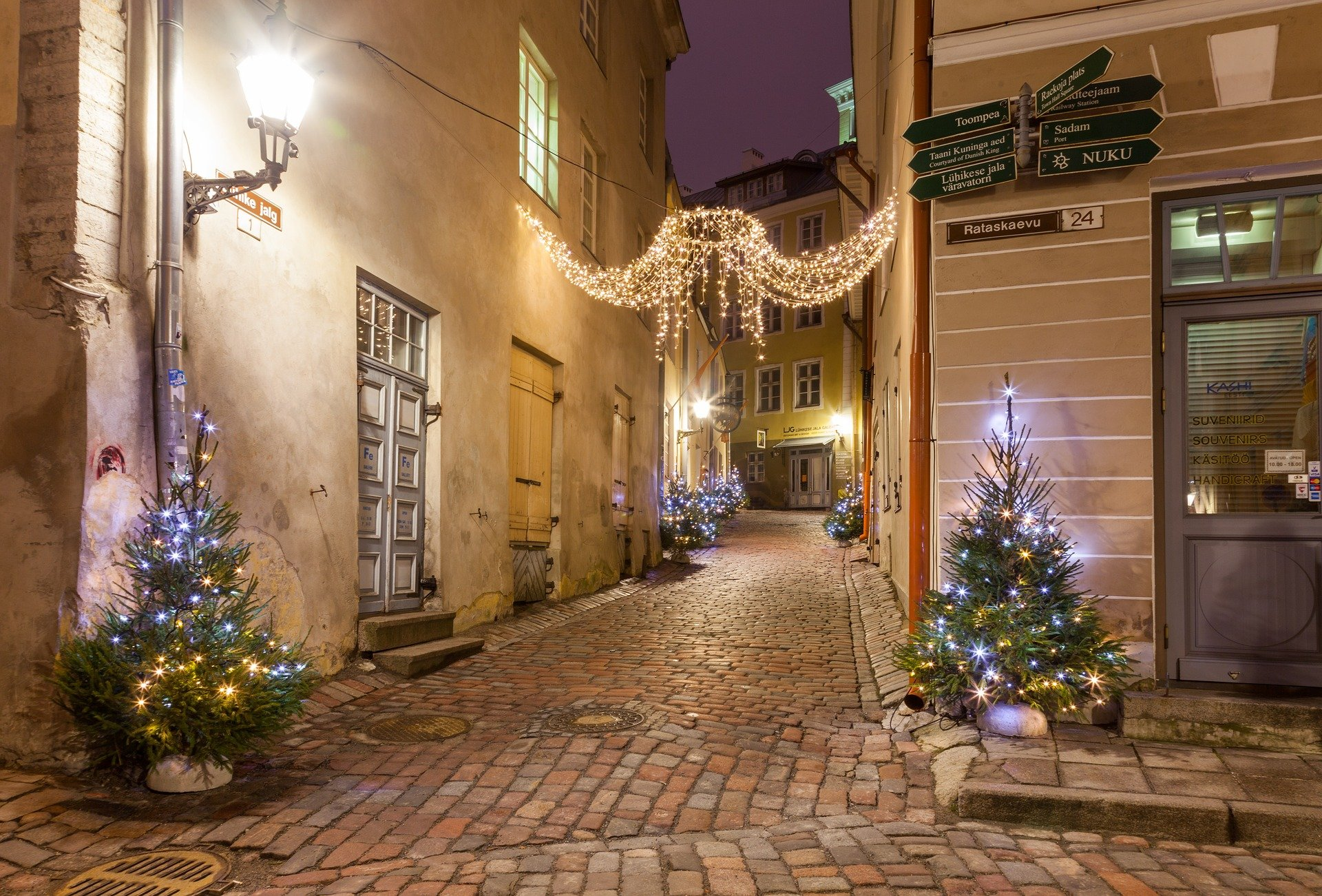Tallinn Christmas Lights
