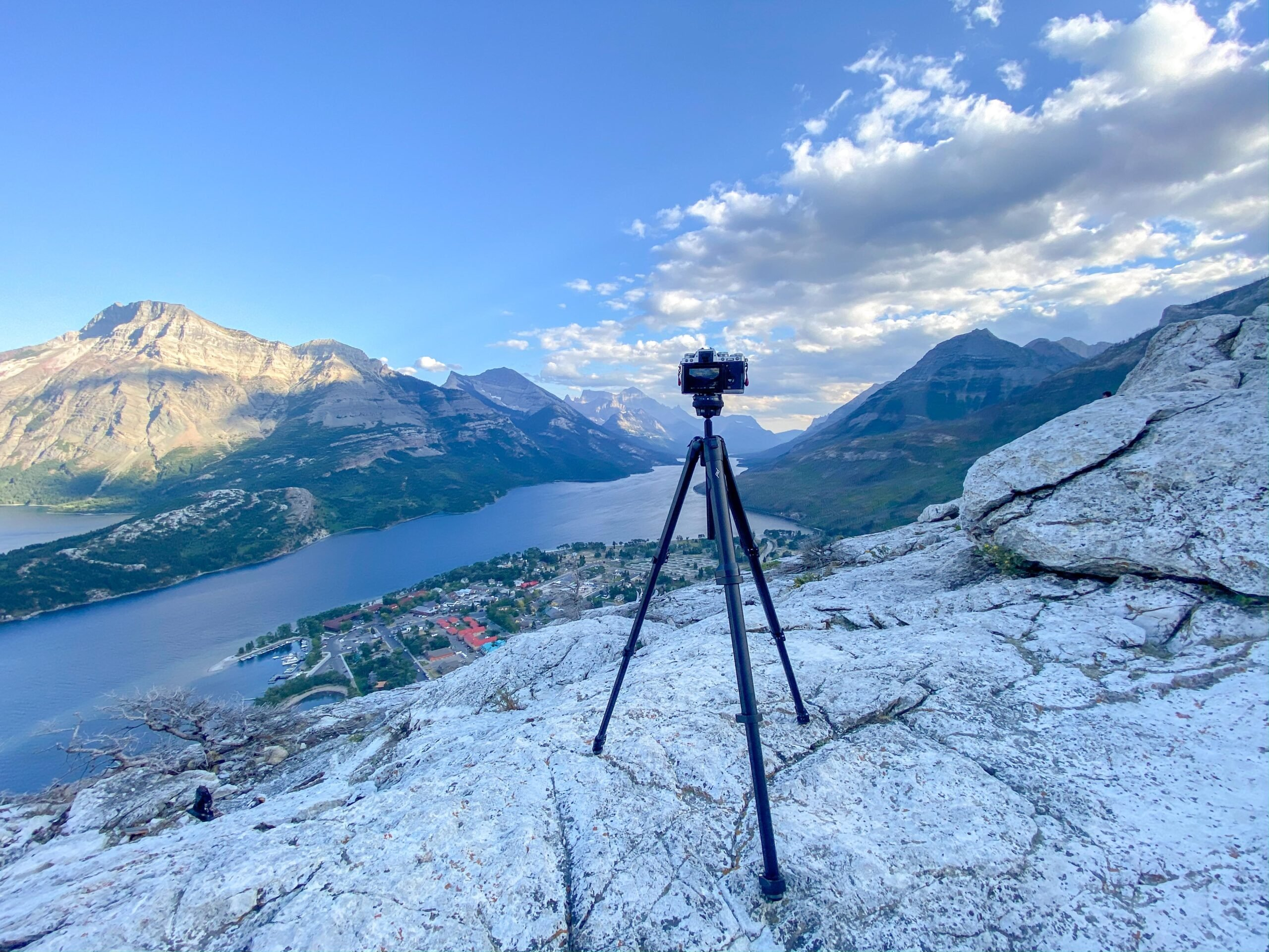 Peak Design Travel Tripod Waterton National Park