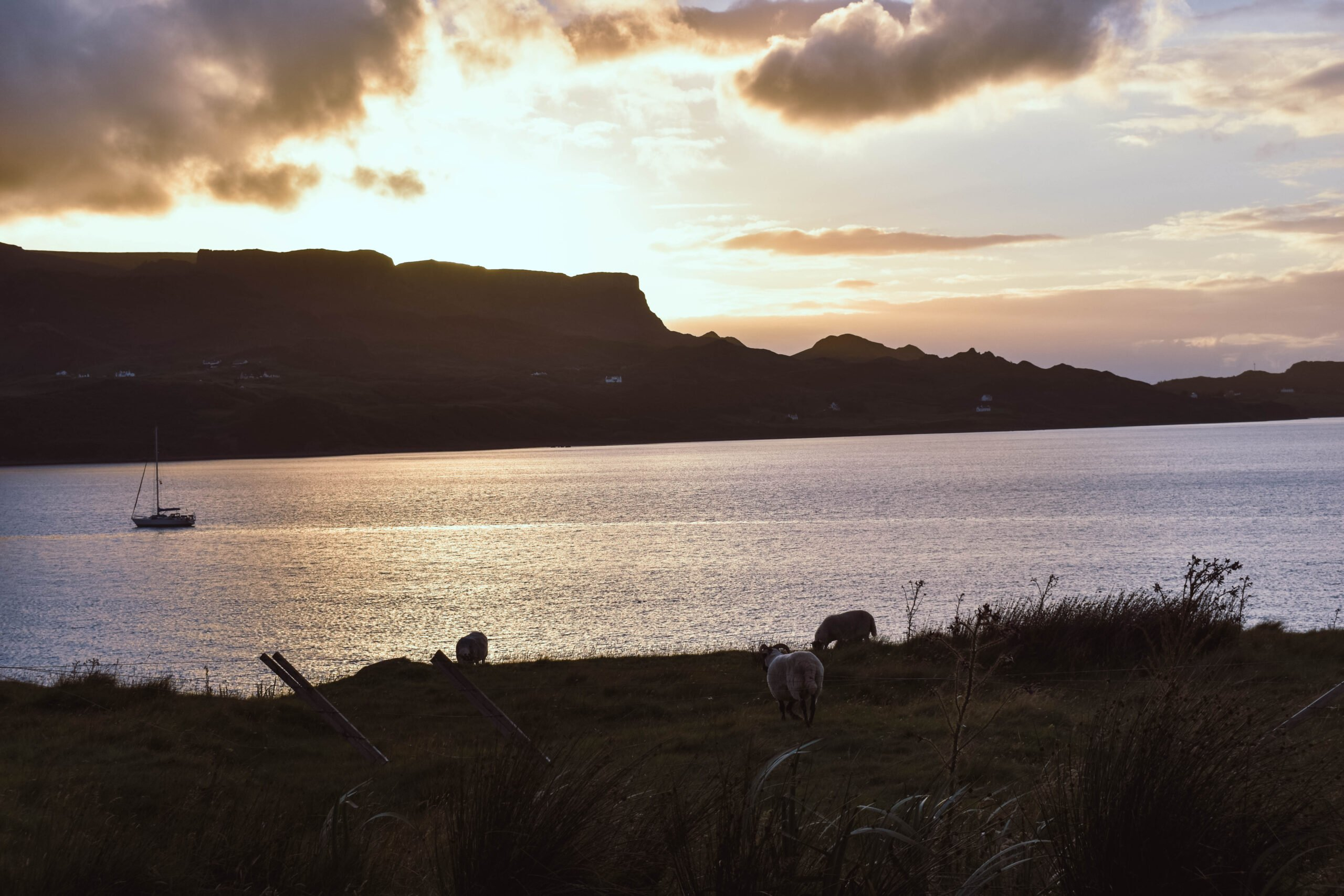 Staffin Bay