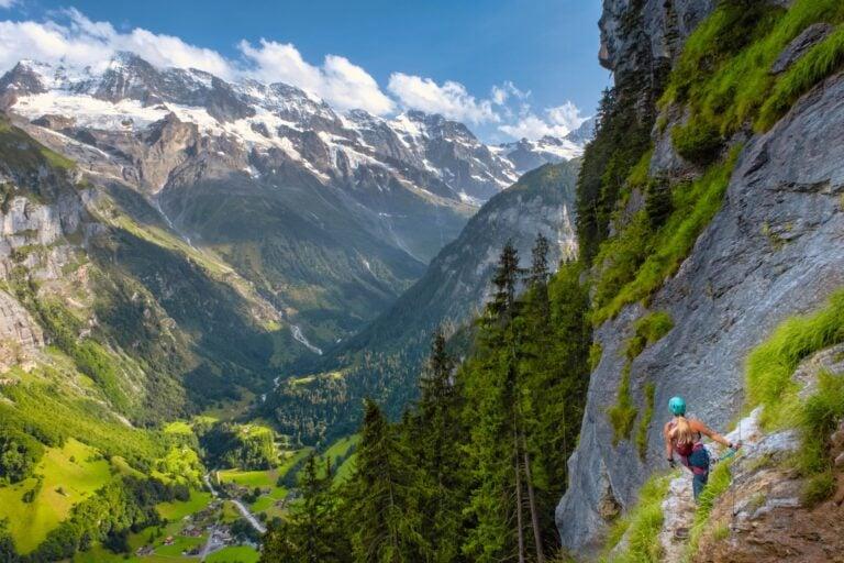 Murren - Via Ferrata Switzerland